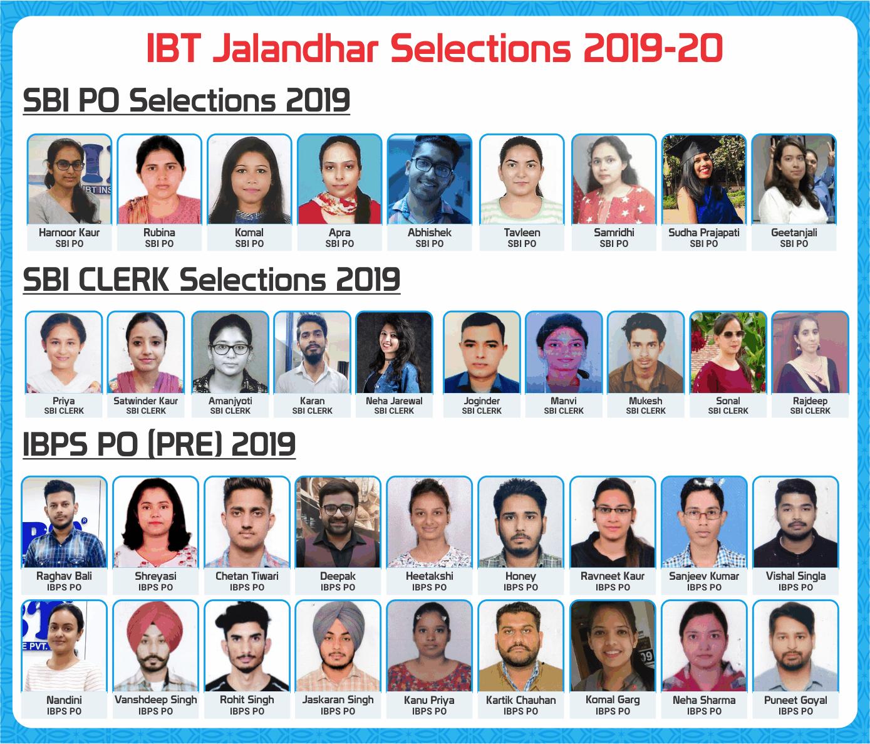 ibt  Jalandhar selections