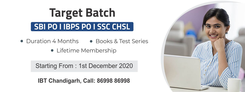 IBPS PO Coaching in Chandigarh