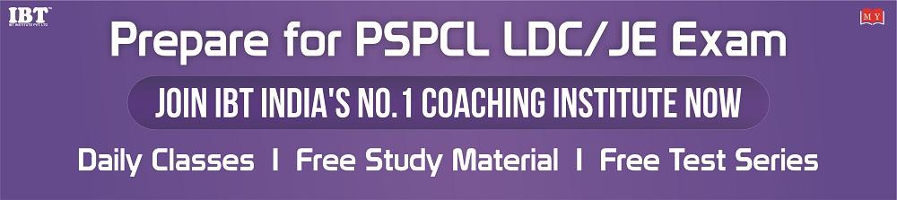 Prepare for PSPCL LDC/JE Exam