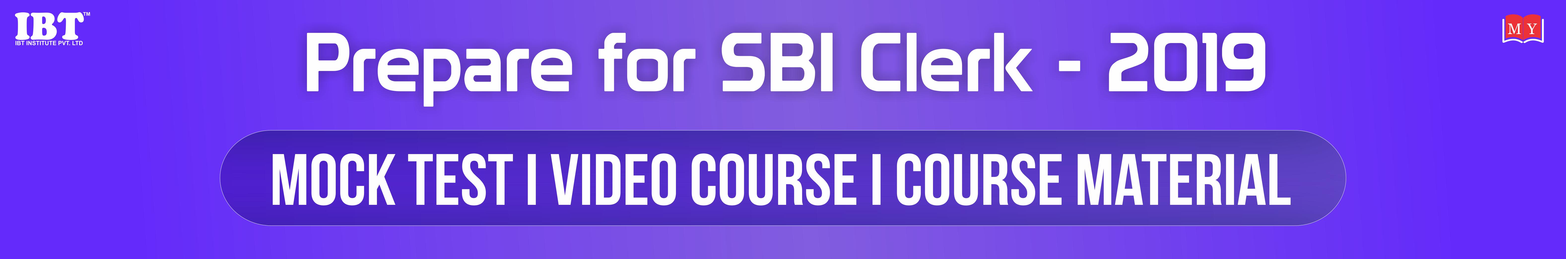 SBI Clerk 2019: SBI Clerk Notification, SBI Clerk Vacancy, Pattern