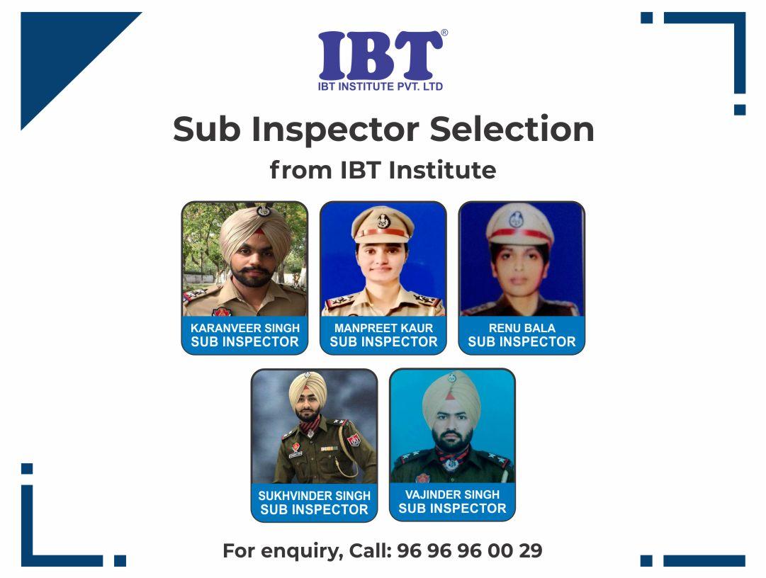 Sub-Inspector